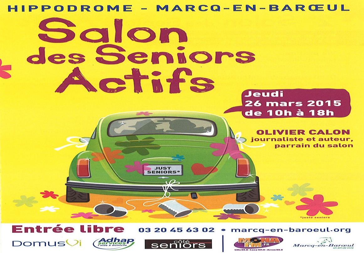 affiche salon sénior 26-03-2015